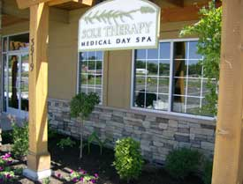 Entrance to Sole Therapy Spa in Yakima
